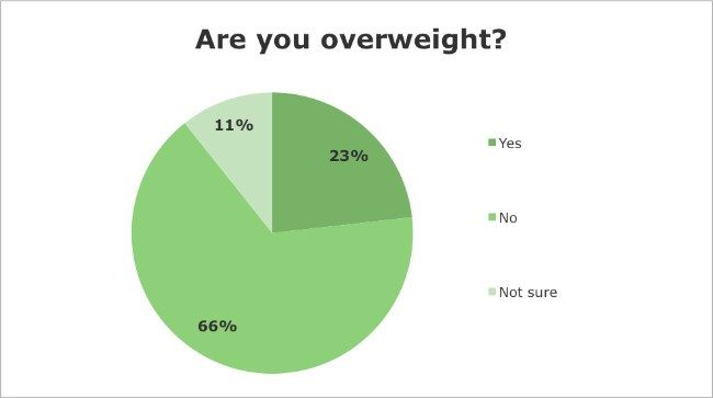 Iridology Questionnaire - Are you overweight?